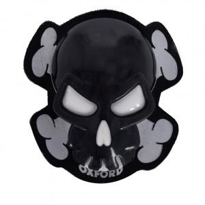 Oxford протектор Skull Knee Sliders Black