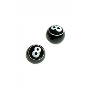Капачки за вентил черна топка
