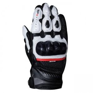 Мотоциклетни кожени ръкавици къси Oxford RP-4 Tech Black/White XL