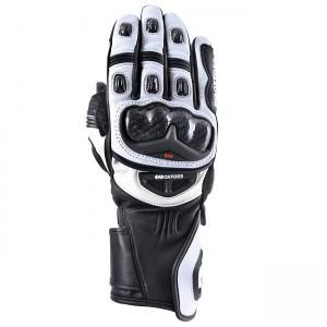 Мотоциклетни кожени ръкавици Oxford RP-2R Black/White XXL