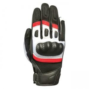 Мотоциклетни кожени ръкавици Oxford RP-6S Black/Red/White M