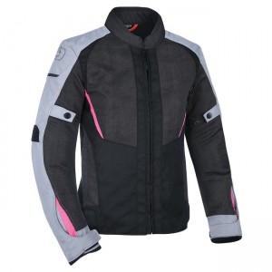 Дамско яке Oxford Iota 1.0 Air Jacket Black/Grey/Pink M