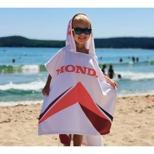 Детско пончо HONDA за плаж