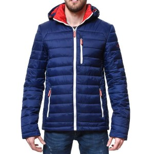 Пухено яке S Navy Padded Jacket