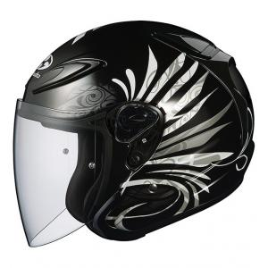 Каска Kabuto AVAND II Graphic LB Black Metallic-1 XL