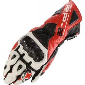 Червено-бели ръкавици XL